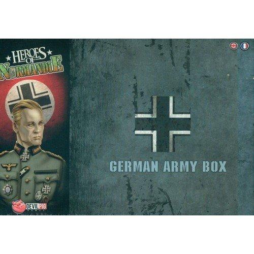 Heroes of Normandie - German Army Box  (Lingua: Italiano, Inglese - Stato: Nuovo)