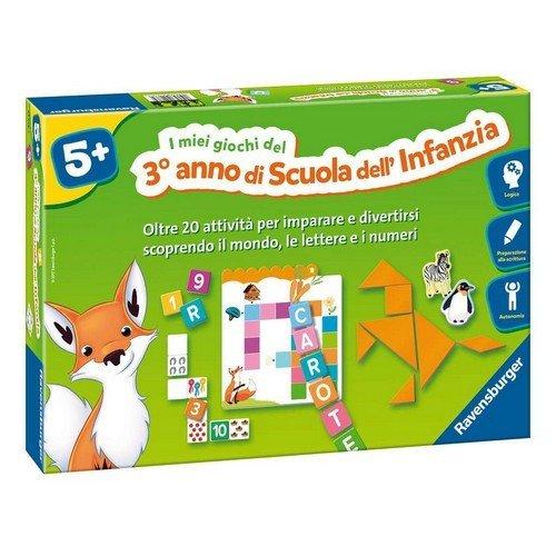 I Miei Giochi del 3° Anno di Scuola dell'Infanzia  (Lingua: Italiano - Stato: Nuovo)