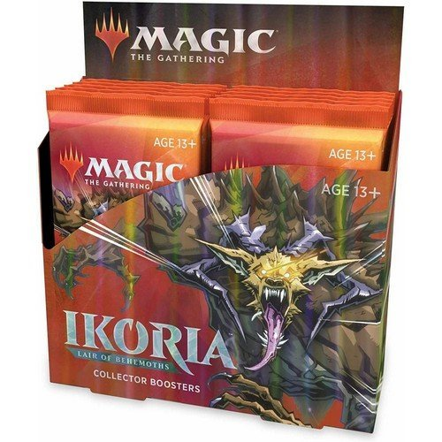 Ikoria: Terra dei Behemoth Collector Boosters Box  (Lingua: Inglese - Stato: Nuovo)
