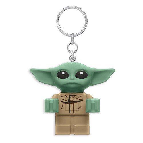Il Bambino Grogu Lego Portachiavi Led Light 8cm  (Stato: Nuovo)