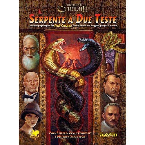 Il Richiamo di Cthulhu, Il Serpente a Due Teste 7a Edizione  (Lingua: Italiano - Stato: Nuovo)