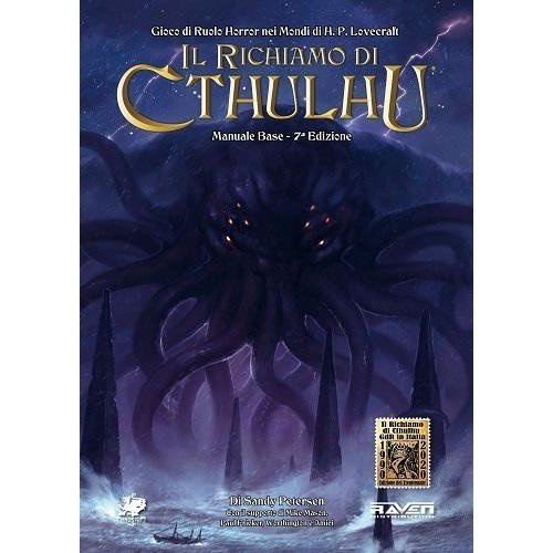 Il Richiamo di Cthulhu, Manuale Base 7a Edizione  (Lingua: Italiano - Stato: Nuovo)