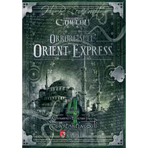 Il Richiamo di Cthulhu: Orrore sull'Orient Express Vol. 4  (Lingua: Italiano - Stato: Nuovo)