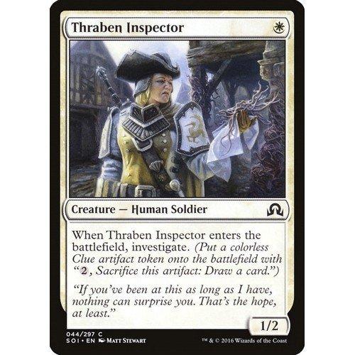 Ispettrice di Thraben  (Lingua: Inglese - Stato: Near Mint)