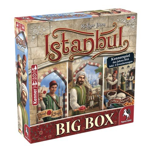 Istanbul: Big Box  (Language: English, German - Conditions: New)
