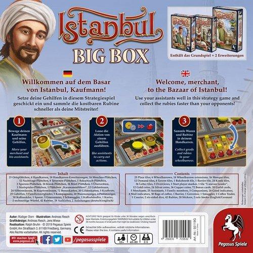 Istanbul: Big Box  (Lingua: Inglese, Tedesco - Stato: Nuovo)