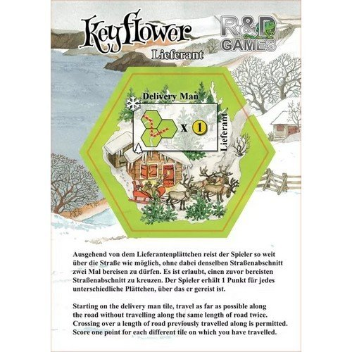 Keyflower: Delivery Man Promo  (Lingua: Inglese, Tedesco - Stato: Nuovo)