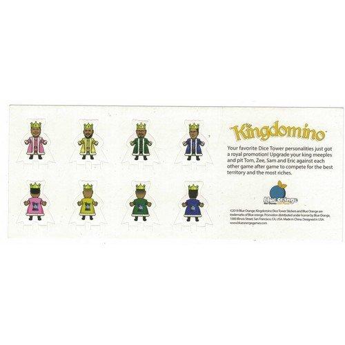 Kingdomino Promo Stickers  (Stato: Nuovo)