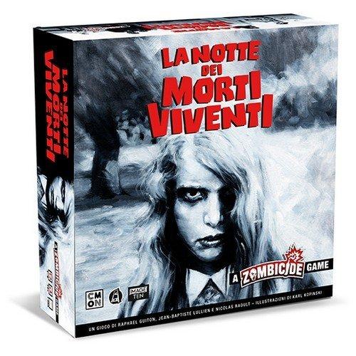 La Notte dei Morti Viventi, A Zombicide Game  (Lingua: Italiano - Stato: Nuovo)