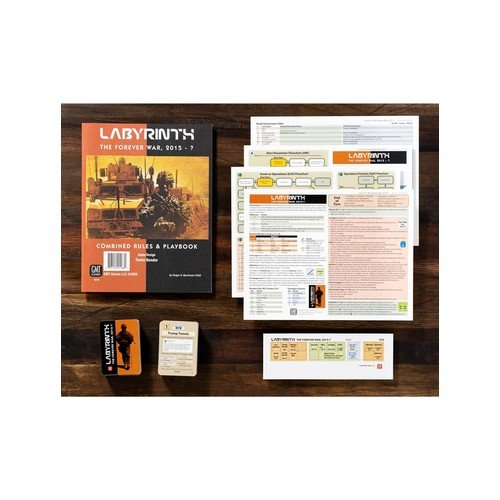 Labyrinth: The Forever War, 2015 - ? Expansion  (Lingua: Inglese - Stato: Nuovo)