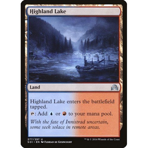 Lago dell'Altopiano  (Lingua: Inglese - Stato: Near Mint)