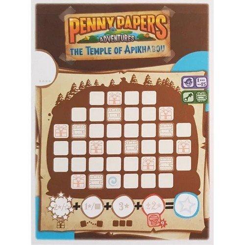 Le Avventure di Penny Papers: Il Tempio di Apikhabou, Santa's Secret Lair  (Lingua: Inglese, Tedesco - Stato: Nuovo)