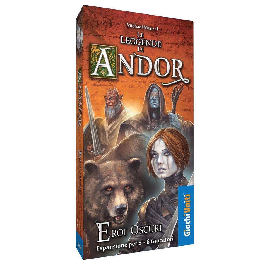 Le Leggende di Andor: Eroi Oscuri - Espansione  (Lingua: Italiano - Stato: Nuovo)