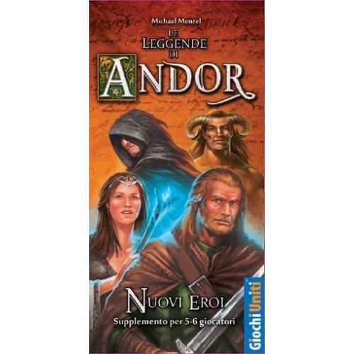Le Leggende di Andor: Nuovi Eroi - Espansione  (Lingua: Italiano - Stato: Nuovo)