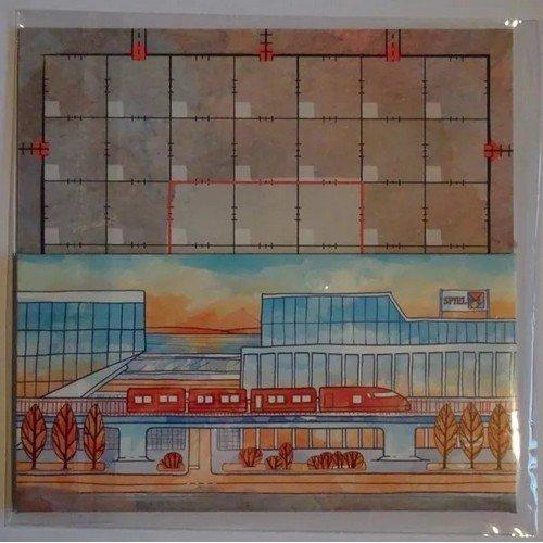 Le Strade d'Inchiostro: Promo Board #2, Red Train  (Stato: Nuovo)