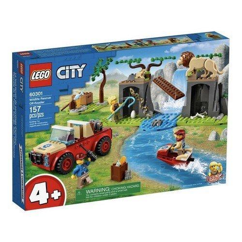 Lego City 60301: Fuoristrada di Soccorso Animale  (Lingua: Multilingua - Stato: Nuovo)