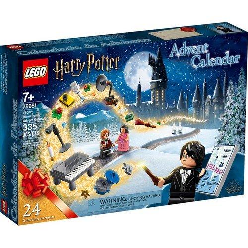 Lego 75981: Calendario dell'Avvento Harry Potter  (Lingua: Multilingua - Stato: Nuovo)