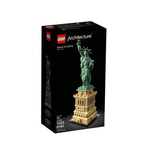 Lego Architecture 21042: Statua della Libertà  (Lingua: Multilingua - Stato: Nuovo)