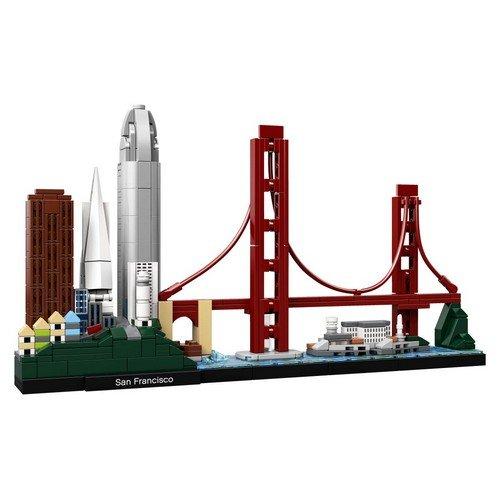 Lego Architecture 21043: San Francisco  (Lingua: Multilingua - Stato: Nuovo)