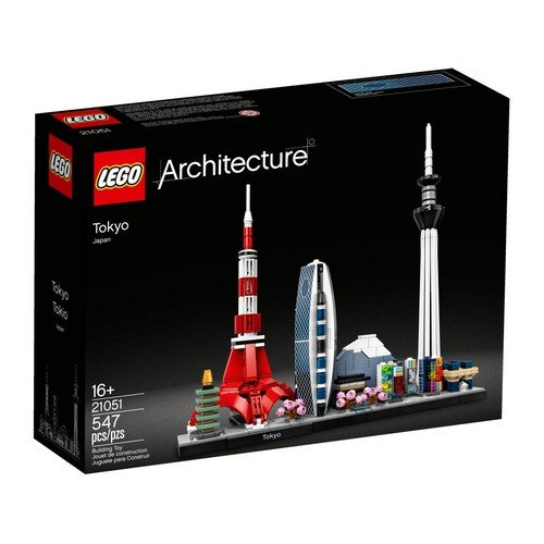 Lego Architecture 21051: Tokyo  (Lingua: Multilingua - Stato: Nuovo)