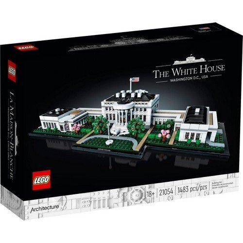 Lego Architecture 21054: La Casa Bianca  (Lingua: Multilingua - Stato: Nuovo)