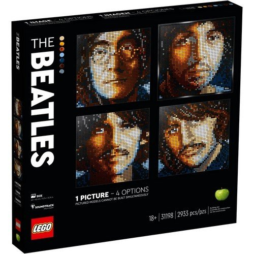 Lego Art 31198: The Beatles  (Lingua: Multilingua - Stato: Nuovo)