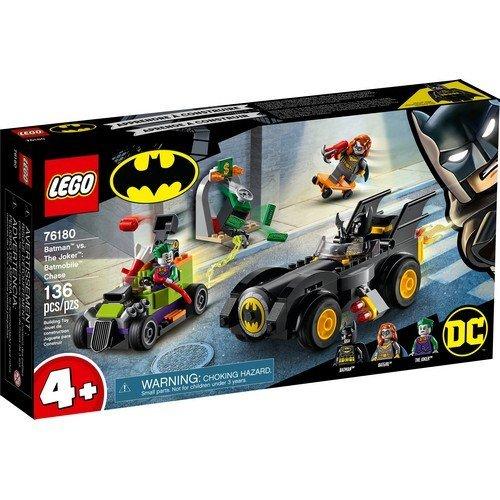 Lego Batman 76180: Batman™ vs. Joker™, Inseguimento con la Batmobile™  (Lingua: Multilingua - Stato: Nuovo)