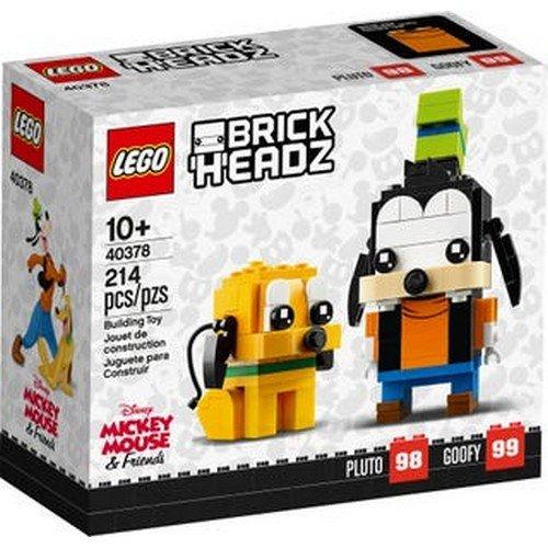 Lego Brick Headz 40378: Pluto e Pippo  (Lingua: Multilingua - Stato: Nuovo)