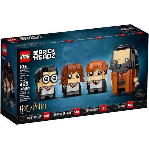 Lego Brick Headz 40495: Harry, Hermione, Ron e Hagrid™  (Lingua: Multilingua - Stato: Nuovo)