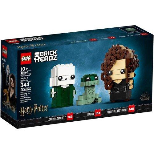 Lego Brick Headz 40496: Voldemort™, Nagini e Bellatrix  (Lingua: Multilingua - Stato: Nuovo)