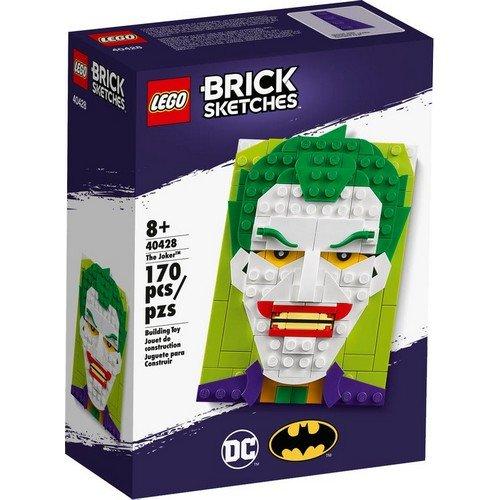 Lego Brick Sketches 40428: Joker  (Lingua: Multilingua - Stato: Nuovo)