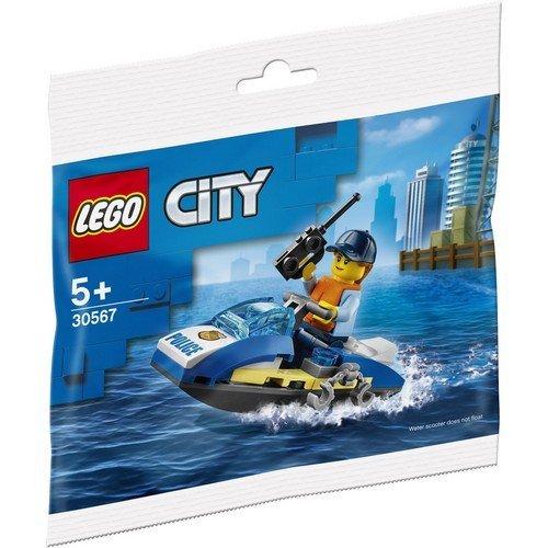 Lego City 30567: Moto d'Acqua della Polizia  (Lingua: Multilingua - Stato: Nuovo)
