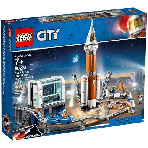 Lego City 60228: Razzo Spaziale e Centro di Controllo  (Lingua: Multilingua - Stato: Nuovo)