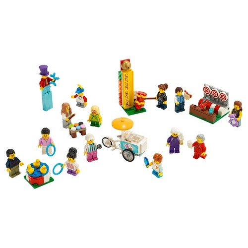 Lego City 60234: People Pack - Luna Park  (Lingua: Multilingua - Stato: Nuovo)