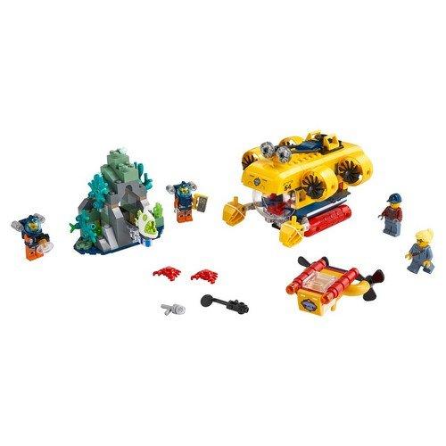 Lego City 60264: Sottomarino da Esplorazione Oceanica  (Lingua: Multilingua - Stato: Nuovo)