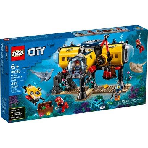 Lego City 60265: Base per Esplorazioni Oceaniche  (Lingua: Multilingua - Stato: Nuovo)