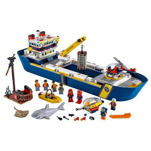 Lego City 60266: Nave da Esplorazione Oceanica  (Lingua: Multilingua - Stato: Nuovo)