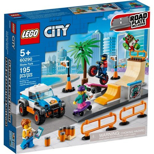 Lego City 60290: Skate Park  (Lingua: Multilingua - Stato: Nuovo)
