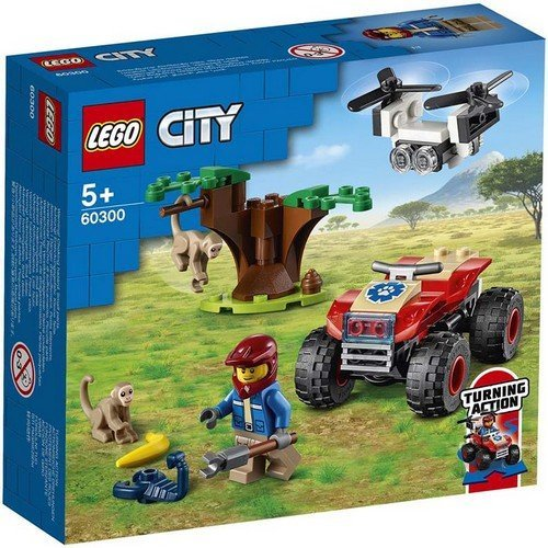 Lego City 60300: ATV di Soccorso Animale  (Lingua: Multilingua - Stato: Nuovo)