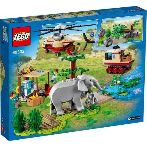 Lego City 60302: Operazione di Soccorso Animale  (Lingua: Multilingua - Stato: Nuovo)