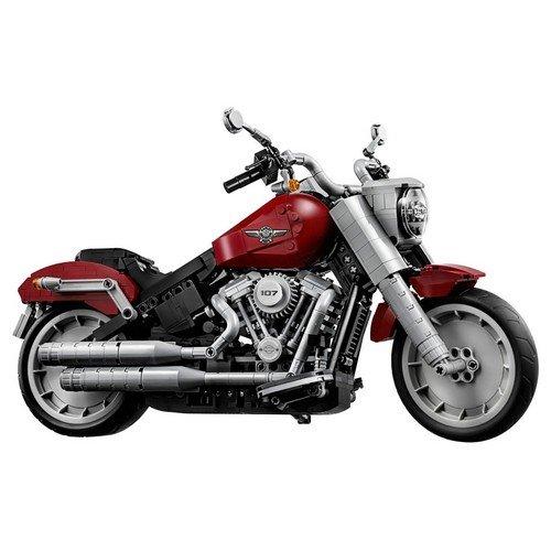 Lego Creator Expert 10269: Harley-Davidson® Fat Boy®  (Lingua: Multilingua - Stato: Nuovo)