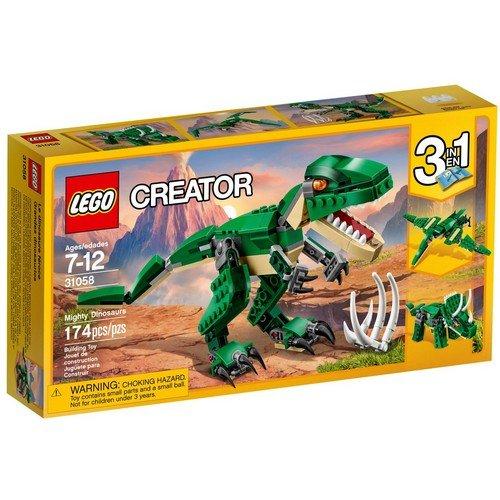 Lego Creator 3in1 31058: Dinosauro  (Lingua: Multilingua - Stato: Nuovo)