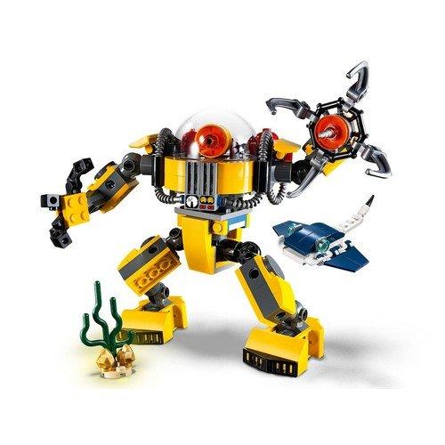 Lego Creator 3in1 31090: Robot Sottomarino  (Lingua: Multilingua - Stato: Nuovo)