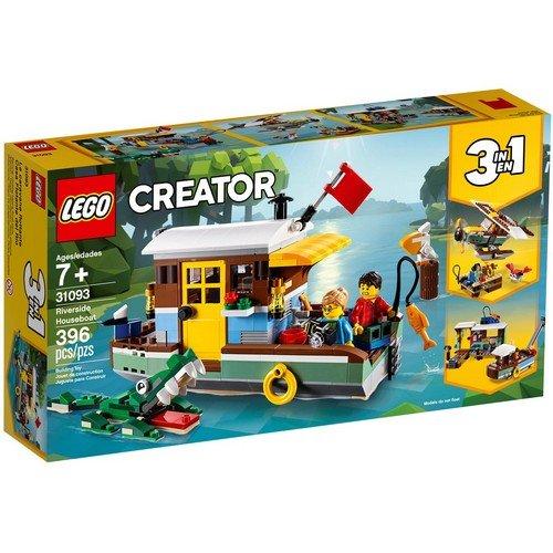Lego Creator 3in1 31093: Casa Galleggiante  (Lingua: Multilingua - Stato: Nuovo)
