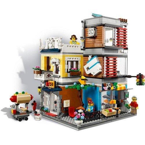 Lego Creator 3in1 31097: Negozio degli Animali & Café  (Lingua: Multilingua - Stato: Nuovo)