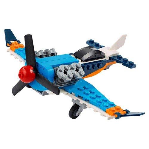 Lego Creator 3in1 31099: Aereo a Elica  (Lingua: Multilingua - Stato: Nuovo)