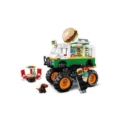 Lego Creator 3in1 31104: Monster Truck degli Hamburger  (Lingua: Multilingua - Stato: Nuovo)