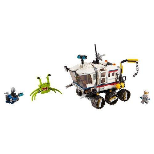 Lego Creator 3in1 31107: Il Rover di esplorazione Spaziale  (Lingua: Multilingua - Stato: Nuovo)