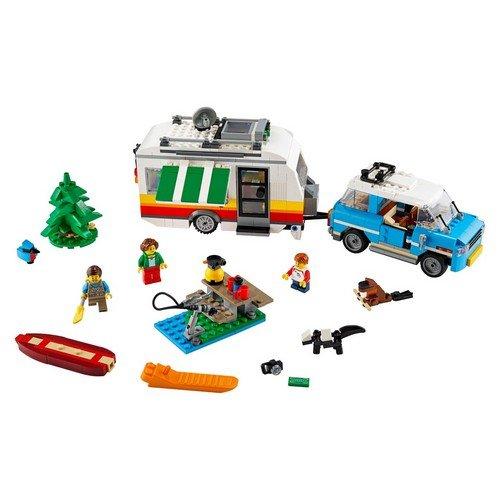 Lego Creator 3in1 31108: Vacanze in Roulotte  (Lingua: Multilingua - Stato: Nuovo)