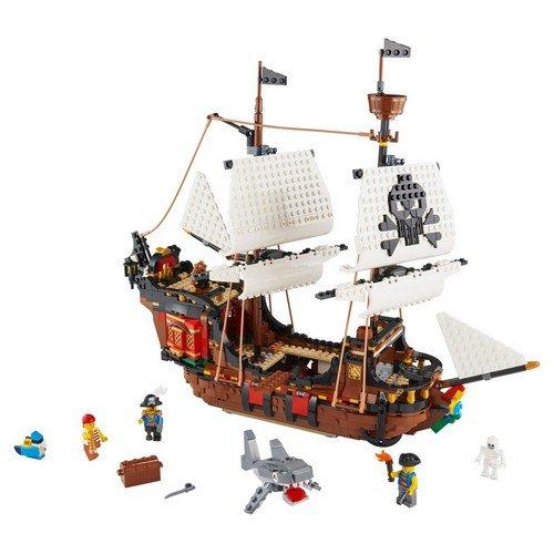 Lego Creator 3in1 31109: Galeone dei Pirati  (Lingua: Multilingua - Stato: Nuovo)
